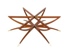 Danish Teak Folding Spider Leg Coffee Table By Selig Good Looking