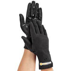 The Circulation Enhancing Vibration Gloves - Hammacher Schlemmer