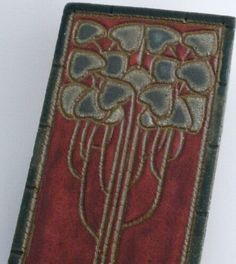 arts & crafts tree tile by snowhilltileworks on Etsy, $14.00