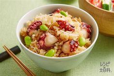 だし炊きたこ飯(米+ゆでだこを使ったレシピ)