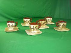 Ceramica Pigmentos: JUEGO CUADRADO Sugar Bowls, Dishes, Games
