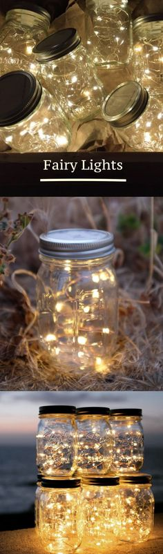 Fairy Lights | Lighting | Mason Jar | Decor | Home | Wedding | Outdoor