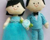 West Java Wedding dolls. $35.30, via Etsy.