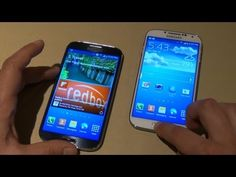 Here is the first German Samsung GALAXY S4 Hands-On Video! The new Samsung GALAXY S4 is shown here in the first hands-on video with cool new features