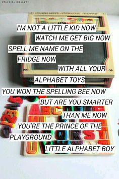 (3) Alphabet Boy-Melanie Martinez made by @ThisIsMyReality