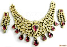 Diamond Jewelry | Polki Diamond Jewellery: These days this style of jewelry is very in ...