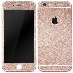 [TREND] Original Urcover® iPhone 6 6S PLUS Glitzerfolie Glitzerhülle Handyskin zum Aufkleben Diamond Funkeln Schutzfolie Body Haut Luxus Bling Glamourös Champagner Gold Creme Beige 7,90€