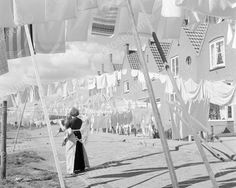 Laundry Day Vintage 8x10 Reprint Of Old Photo