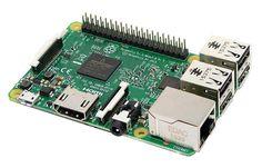 Raspberry PI 3 Model B 1.2GHz 64-bit quad-core ARMv8 CPU, 1GB RAM  #RaspberryPi