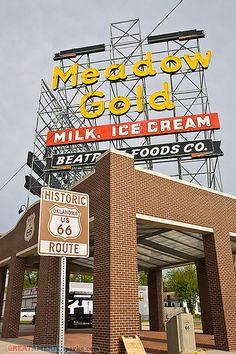 historic Route 66, via Flickr.