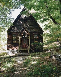 "oldfarmhouse: "" Rustic little Church Tucked away Via @rusticstyle """