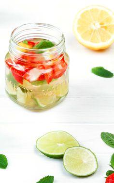 Infused Water & 5 Tipps um mehr zu trinken