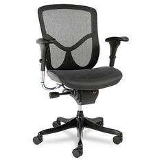 Delicieux Alera EQ Series Mesh Office Chair Frame Finish: Black, Headrest Included: No