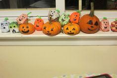 Origami Pumpkins - Jack O Lanterns