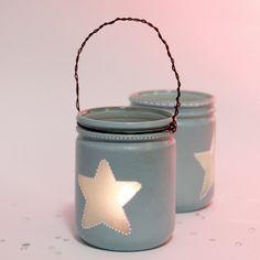 Créer un lampion photophore avec un pot en verre | Idée Créative