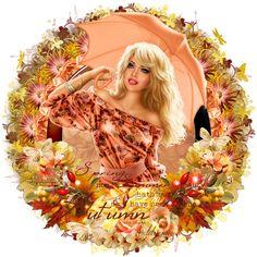 Adrienne´s Designs: Umbrella/Autumn Days