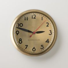 Kennedy Clock | Clocks | Accessories | Schoolhouse Electric & Supply Co.