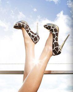 giraffe heels.  O.M.G.