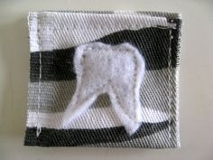 Tooth fairy tooth pouch ;)
