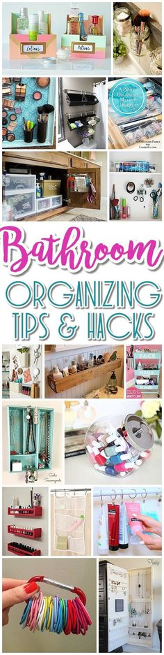 Best Diy Crafts Ideas For Your Home : EASY Inexpensive Do it Yourself Ways to Organize and Decorate your Bathroom and