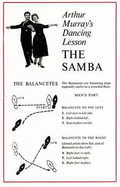 A Ab Dc Dc E Cf F Arthur Murray The Samba on Basic Waltz Steps Diagram