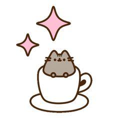 Pusheen Stickers, Pusheen Cute, Disney Collage, Cute Cartoon Drawings, Princesas Disney, Cat Lady, Aesthetic Wallpapers, Cute Cats, Diana