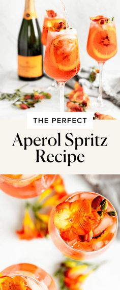 Aperol Spritz Recipe - Broma Bakery Fun Cocktails, Summer Drinks, Party Drinks, Cold Drinks, High Protein Vegetarian Recipes, Healthy Dinner Recipes, Summer Recipes, Aperol Spritz Recipe, Easy Kid Friendly Dinners