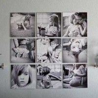 Decorar una pared con fotos | Casa Web