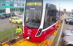 [AT] Video: Wiener Linien receives first Flexity tram for Christmas Commercial Vehicle, Train, Vehicles, Christmas, Xmas, Car, Navidad, Noel, Natal