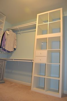 Expedit Closet - good for all the white expedits we no longer want!