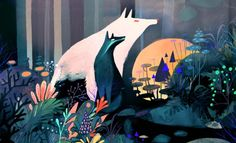 Long for Another World With These Enchanting Illustrations by Juliette Oberndorfer on Creativitea