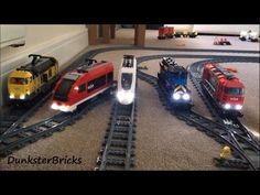 Lego City 60098 Heavy Haul Train Speed Build - YouTube