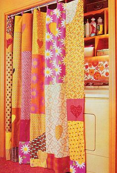Better Homes and Gardens: Patchwork & Quilting 1977 My bedroom was hot pink and orange at that time!