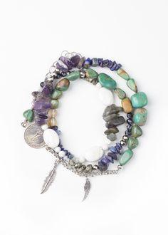 Gypsy Goddess Wrap Bracelet by SoulMakes.com