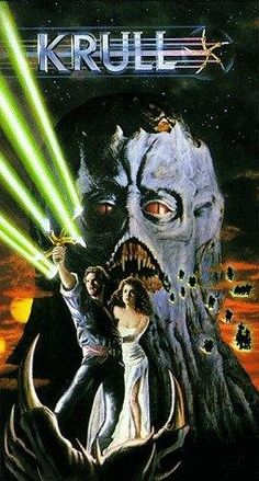 A fantastic poster for a fantastic movie - Krull the epic sci-fi cult film from Ships fast. Need Poster Mounts. Film Science Fiction, Fiction Movies, Sci Fi Movies, Horror Movies, Fantasy Movies, Sci Fi Fantasy, Dark Fantasy, Robert E Howard, Kino Film