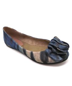 Take a look at this Blue Tiger Ballet Flat by Nicole Simpson on #zulily today!
