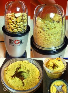 I'm going to try this with almonds.  If oil is needed I think I will use a little coconut oil instead of vegetable oil.