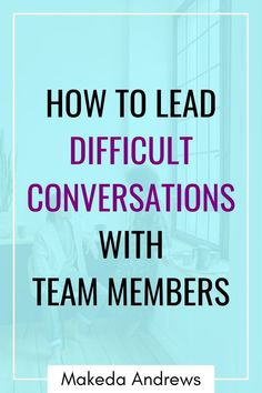 As a new manager, developing your leadership skills is essential, and one of those is learning how to have difficult and hard conversations with your employees and team members at work. Learn how to start a hard conversation at work with these tips. As a leader, you'll need to learn the new manager skills to start and lead difficult conversations at work with employees. Click through for advice on how to have a difficult conversation with a team member or difficult employee. Good Leadership Skills, Leadership Development Training, Leadership Strategies, Leadership Coaching, Communication Skills, Interview Suits, Job Interview Tips, Change Management, Management Tips