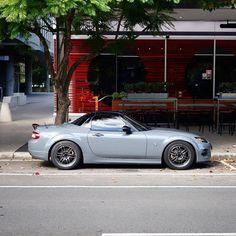 💙 / Photo by: Mx5 Nc, Race Car Track, Mazda Roadster, Kei Car, Drifting Cars, Mazda Miata, Sweet Cars, Custom Cars, Jdm