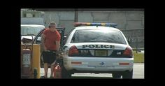 Miami Police Officer arrested for stealing gas ! (Video) | Oddy Central | Shocking News | Odd News | Odd News Stories I Odd I Bizarre I Weird I