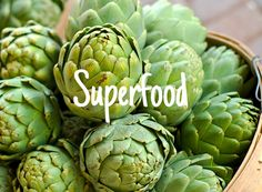 Superfood: The Artichoke - See all the benefits of the mighty artichoke!