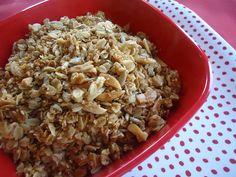 Homemade granola yum!