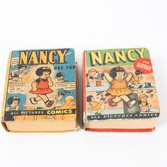 "1940s ""Nancy"" Big Little Books"