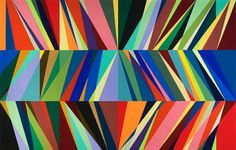 painting by Odili Donald Odita