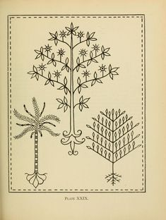 An embroidery pattern book,  by Mary E. Waring -  Published 1917