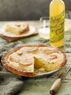 Spiced Apple and Ginger Pie. It will depend how sour your apples are as to how much sweetening they'll require! We've pre baked the base of...