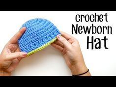 The Parker Crochet Newborn Hat - Sewrella
