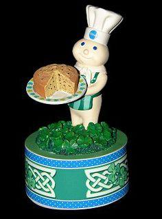 Pillsbury Doughboy Figures | Pillsbury Doughboy Danbury Mint Lighted Halloween Sculpture