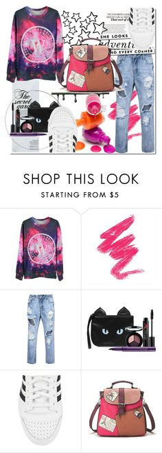 """""""Back to School"""" by black-fashion83 ❤ liked on Polyvore featuring Kate Spade, Smashbox and adidas Originals"""