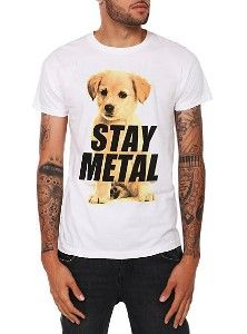 I NEED THIS!! Nothing says metal like an adorable puppy!